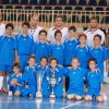 Domestic Futsal League Champions Cups visit the Malta Futsal School